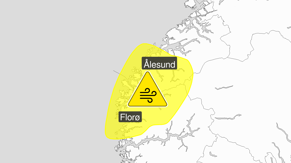 Kraftige vindkast, gult nivå, Sunnfjord, Nordfjord og Sunnmøre, 07 January 13:00 UTC til 07 January 21:00 UTC.